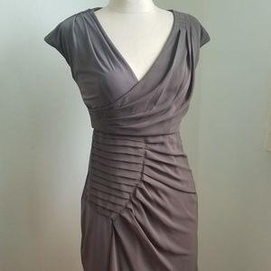 Max & Cleo BCBGMaxAzria Olive Sheath Dress